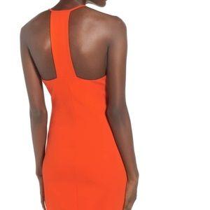 Storee Orange bodycon